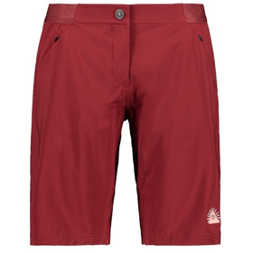 Maloja AnemonaM. Short multisport Femme, red monk